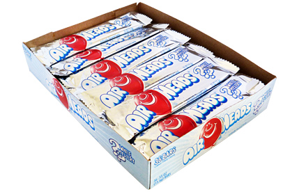 White Mystery Airheads (Box of 36)