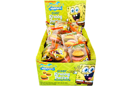 Spongebob Squarepants Giant Krabby Patties (Box of 36)