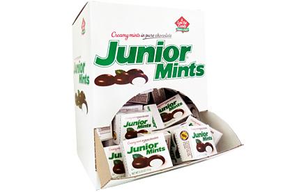 Junior Mints Minis (Box of 72)