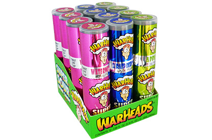 Warheads Super Sour Spray Candy (24 x 12ct)