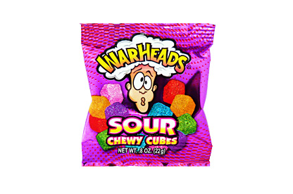 Warheads Sour Chewy Cubes (Mini)