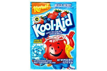 Mixed Berry Kool-Aid (Box of 48)