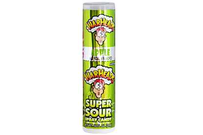 Warheads Apple Super Sour Spray Candy