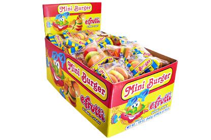 Gummi Mini Burgers (Box of 60)