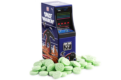 Space Invaders Arcade Tin