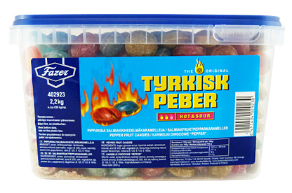 Tyrkisk Peber Hot & Sour (2.2kg)