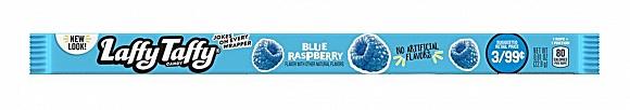 Blue Raspberry Laffy Taffy Rope (Box of 24)