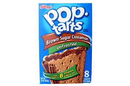 Unfrosted Brown Sugar Cinnamon Pop-Tarts