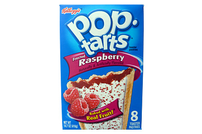 Frosted Raspberry Pop-Tarts