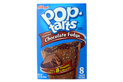 Frosted Chocolate Fudge Pop-Tarts (12 x 8 pastries)