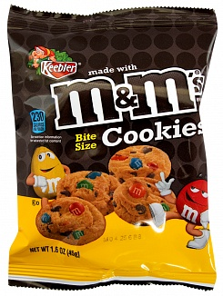 M&M's Bite Size Cookies (Box of 30)