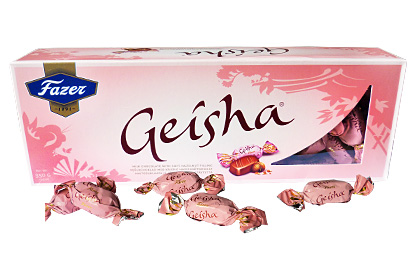 Geisha Soft Hazelnut Chocolates (350g)
