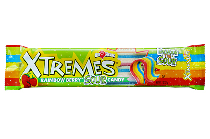 Airheads Xtremes Sour Rainbow Berry (Box of 18)