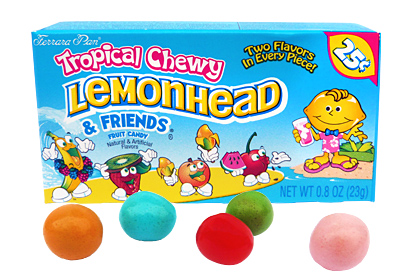 Tropical Chewy Lemonhead and Friends Candy