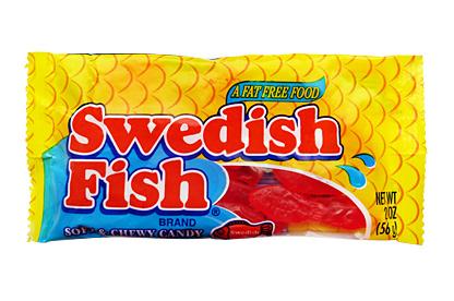 Swedish fish box of 24 for Swedish fish box