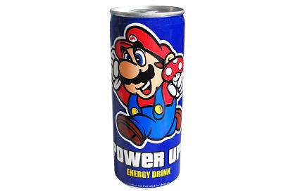 Mario Power Up! Energy Drink
