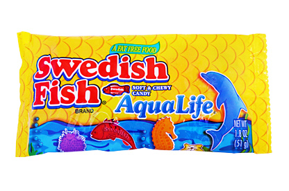 Swedish Fish Aqua Life 12 X 24ct