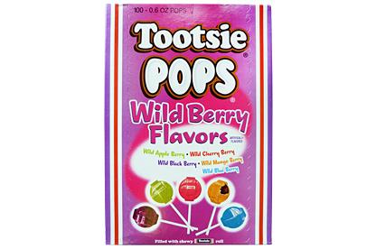 Wild Tootsie Pops (Box of 100)