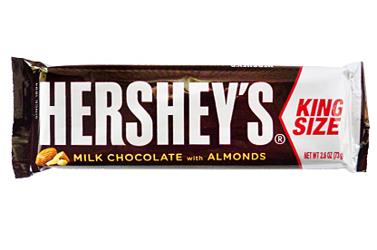 Hershey's Milk Chocolate with Almonds (King Size) (Box of 18)