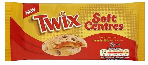 Mars Twix Soft Centre Biscuit (8 x 144g)