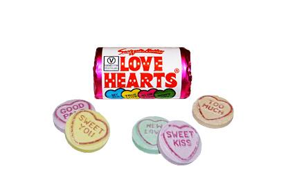 Love Hearts Mini Roll