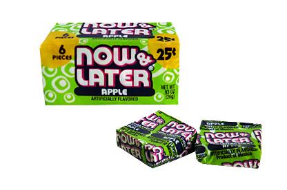 Now & Later Apple (6 pcs)