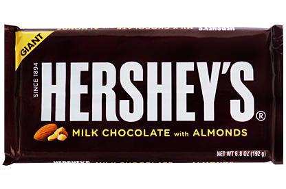 Giant Hershey's Milk Chocolate with Almonds (12 x 192g)