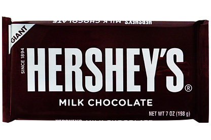 giant hersheys milk chocolate bar 198g