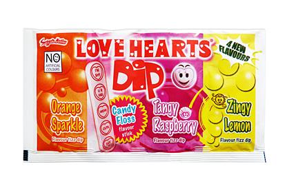 Love Hearts Dip (Box of 36)
