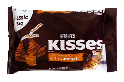 Hershey's Kisses Filled with Caramel (311g)
