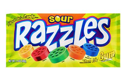 Sour Razzles (Box of 24)