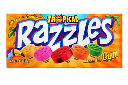 Tropical Razzles (Box of 24)