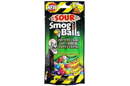 Toxic Waste Sour Smog Balls (Box of 12)