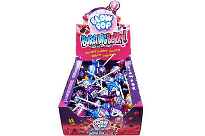 Bursting Berry Blow Pops (Box of 48)