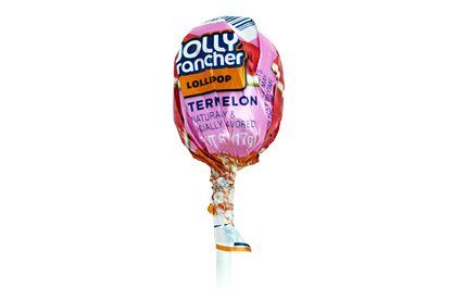 Jolly Rancher Watermelon Lollipop
