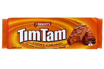 Arnott's Tim Tam Chewy Caramel (24 x 175g)