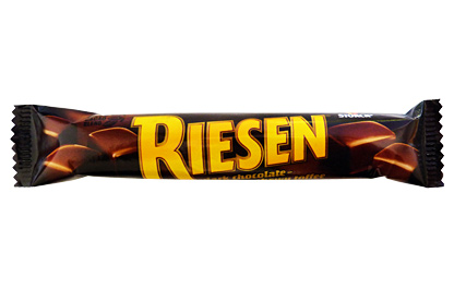 riesen chocolate chews 5 piece bar