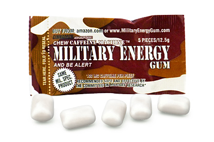 Cinnamon Military Energy Gum