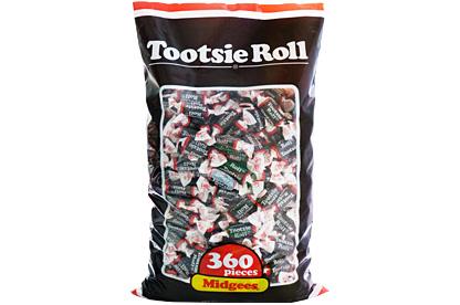Tootsie Roll Midgees 360ct (1.1kg) Bag