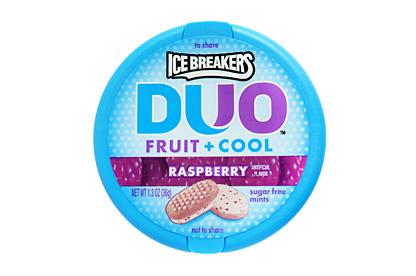 Ice Breakers Duo Raspberry (Box of 8)