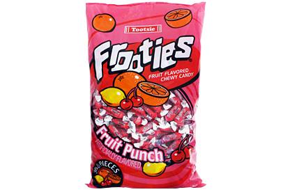 Fruit Punch Tootsie Frooties 360ct (1.1kg) Bag