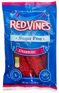 Red Vines Sugar Free Strawberry Twists (Case of 12)
