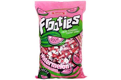 Watermelon Tootsie Frooties 360ct (1.1kg) Bag