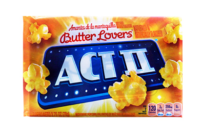 Act II Butter Lovers Microwave Popcorn