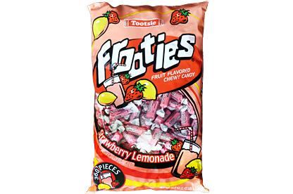 Strawberry Lemonade Tootsie Frooties 360ct (1.1kg) Bag