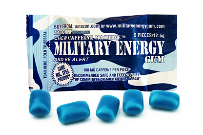 Arctic Mint Military Energy Gum