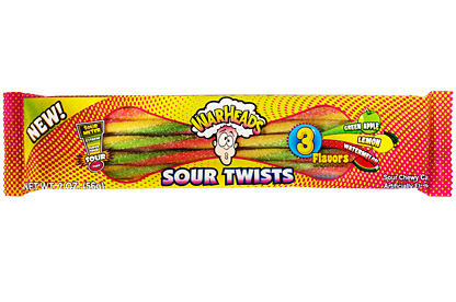 Warheads Sour Twists (Box of 15)