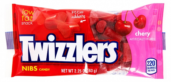 Twizzlers Cherry Nibs (Box of 36)