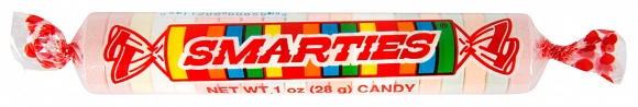 Giant Smarties Candy Rolls (Box of 36)