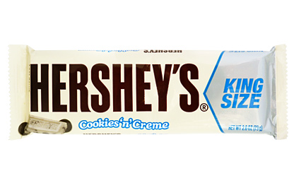 Hershey's Cookies 'n' Creme (King Size) (Box of 18)